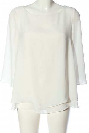 Esprit Blusa de manga larga blanco look casual