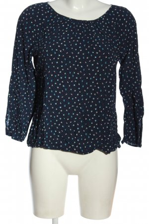 Esprit Langarm-Bluse abstraktes Muster Elegant