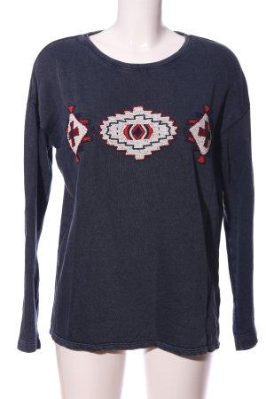 Esprit Sweatshirt grafisches Muster Casual-Look