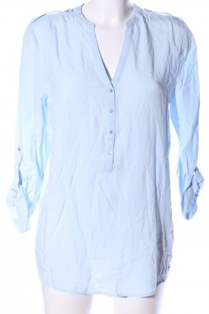 Esprit Langarm-Bluse blau Casual-Look
