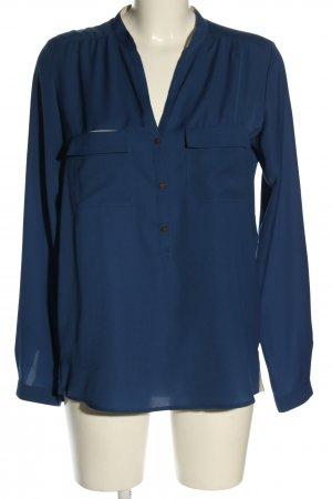 Esprit Langarm-Bluse blau Business-Look
