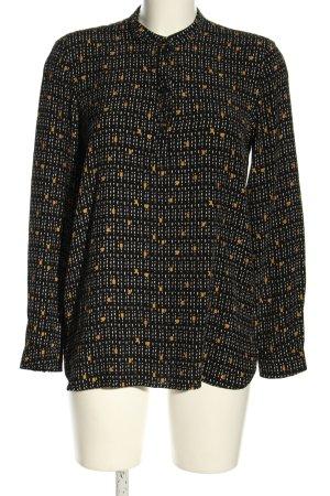 Esprit Langarm-Bluse abstraktes Muster Business-Look