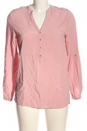 Esprit Langarm-Bluse pink Business-Look