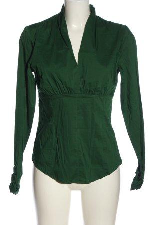Esprit Langarm-Bluse grün Casual-Look