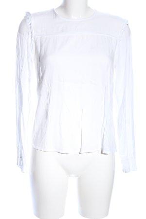 Esprit Langarm-Bluse weiß Business-Look