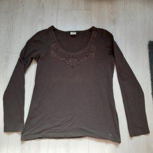 Esprit T-shirt brun foncé