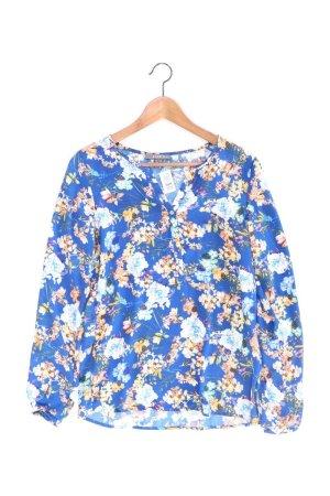 Esprit Langarmbluse Größe 34 blau aus Polyester
