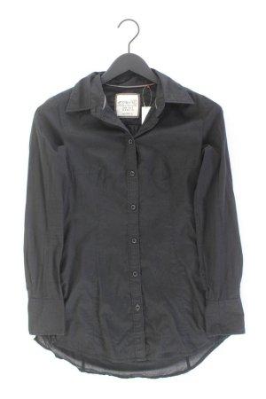 Esprit Langarmbluse Größe 34 schwarz aus Baumwolle