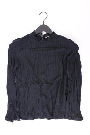 Esprit Langarmbluse Größe 36 schwarz aus Viskose