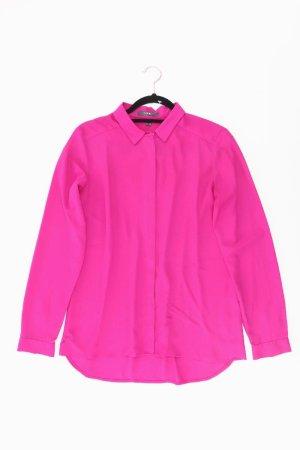 Esprit Langarmbluse Größe 38 pink aus Polyester