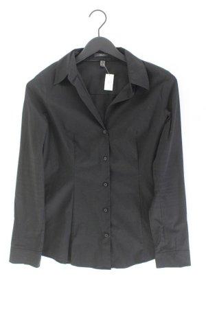 Esprit Langarmbluse Größe 38 schwarz aus Baumwolle