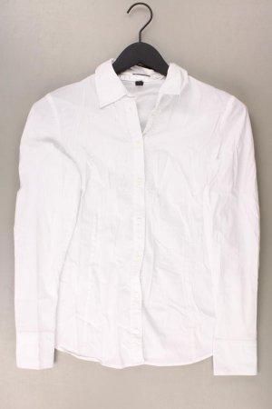 Esprit Langarmbluse Größe 38 weiß aus Baumwolle