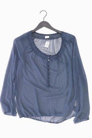 Esprit Langarmbluse Größe 40 neuwertig blau aus Polyester