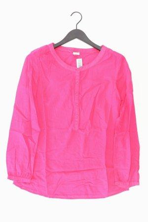 Esprit Langarmbluse Größe 40 pink