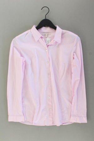 Esprit Langarmbluse Größe M rosa aus Baumwolle