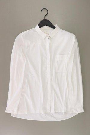 Esprit Langarmbluse Größe XL weiß aus Baumwolle