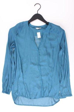Esprit Langarmbluse Größe XS neuwertig blau aus Polyester