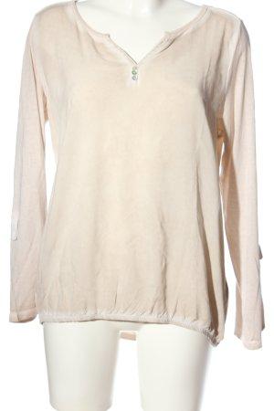 Esprit Langarmhemd pink meliert Business-Look