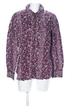 Esprit Camisa de manga larga lila-rosa estampado floral look casual