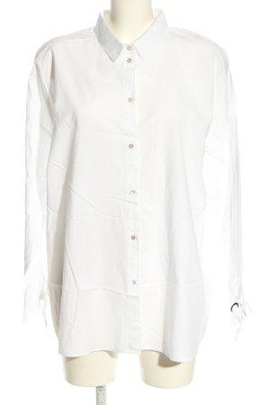 Esprit Camicia a maniche lunghe bianco stile casual