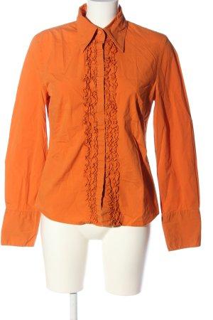 Esprit Camisa de manga larga naranja claro estilo «business»