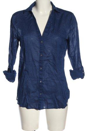 Esprit Langarmhemd blau Casual-Look