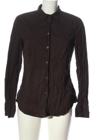 Esprit Camisa de manga larga marrón look casual