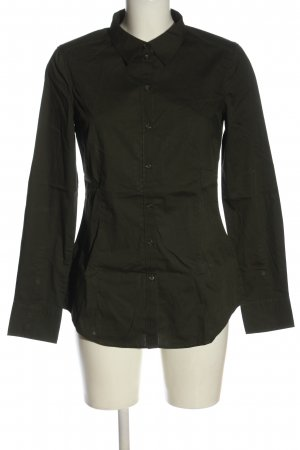 Esprit Langarmhemd khaki Business-Look