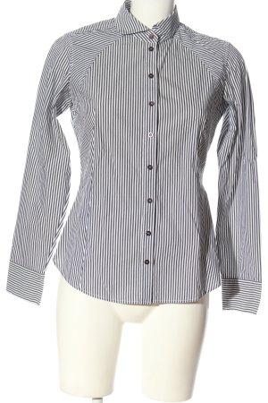 Esprit Langarmhemd schwarz-weiß Allover-Druck Casual-Look