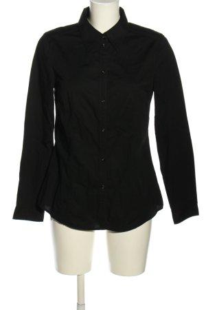 Esprit Langarmhemd schwarz Casual-Look