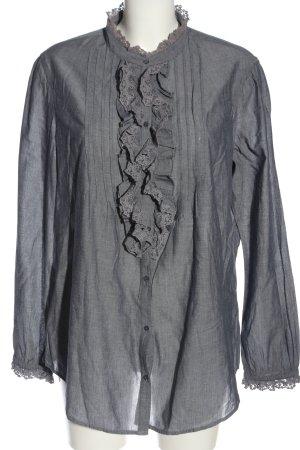 Esprit Chemise à manches longues gris clair style décontracté