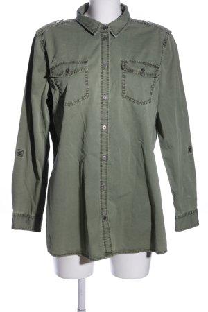 Esprit Langarmhemd khaki Casual-Look