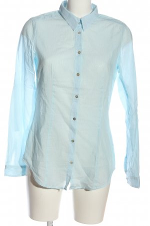 Esprit Langarmhemd blau Streifenmuster Business-Look