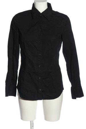 Esprit Langarmhemd schwarz Business-Look