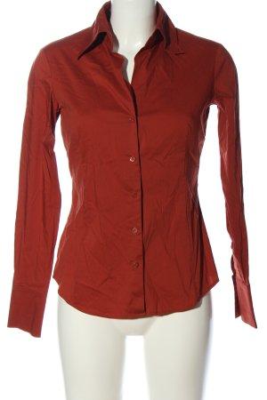 Esprit Camisa de manga larga rojo look casual
