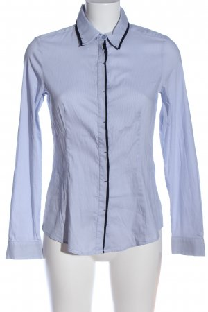 Esprit Langarmhemd blau Streifenmuster Casual-Look