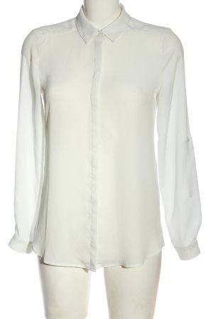 Esprit Langarmhemd wollweiß Business-Look