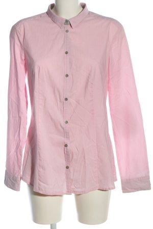 Esprit Langarmhemd pink Business-Look