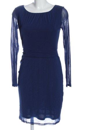 Esprit Langarmkleid blau Casual-Look