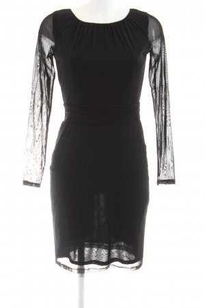 Esprit Langarmkleid schwarz Party-Look