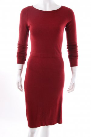 Esprit Sweater Dress carmine