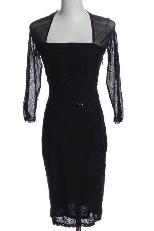Esprit Langarmkleid schwarz Elegant