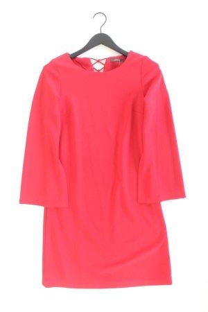 Esprit Langarmkleid Größe 36 rot aus Polyester