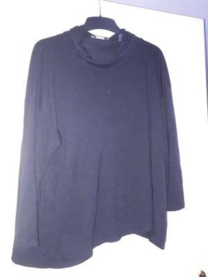 Esprit Koszulka z dekoltem woda czarny