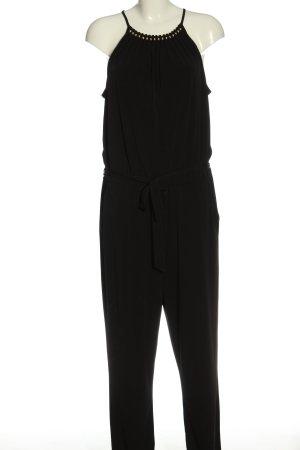 Esprit Langer Jumpsuit schwarz Casual-Look