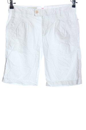 Esprit Pantalón corto tipo peto blanco look casual