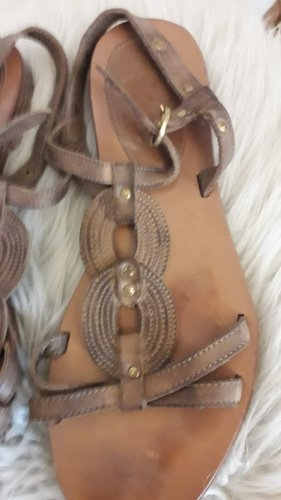 Esprit Sandały rzymskie jasnobrązowy