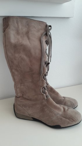 esprit collection Lace-up Boots sand brown