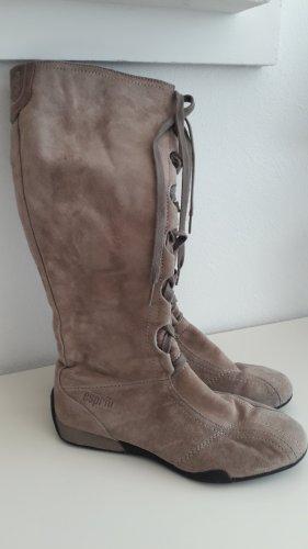 esprit collection Aanrijg laarzen zandig bruin