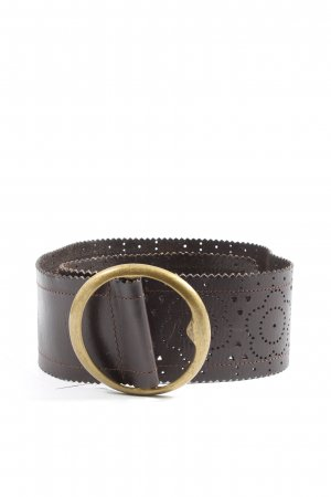 Esprit Leather Belt brown elegant